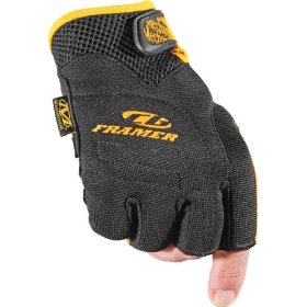 Show details of Mechanix Wear CG27-75-010 Commercial Grade Framer Glove, Black, Large.